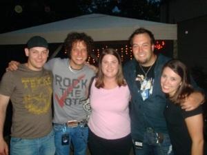 Dan, Chad, Jessica, David, me